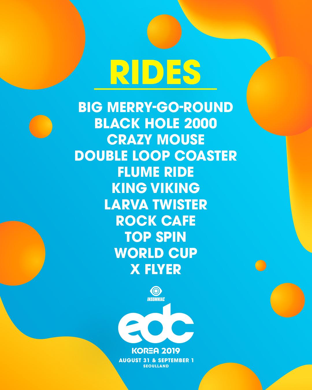 rides list