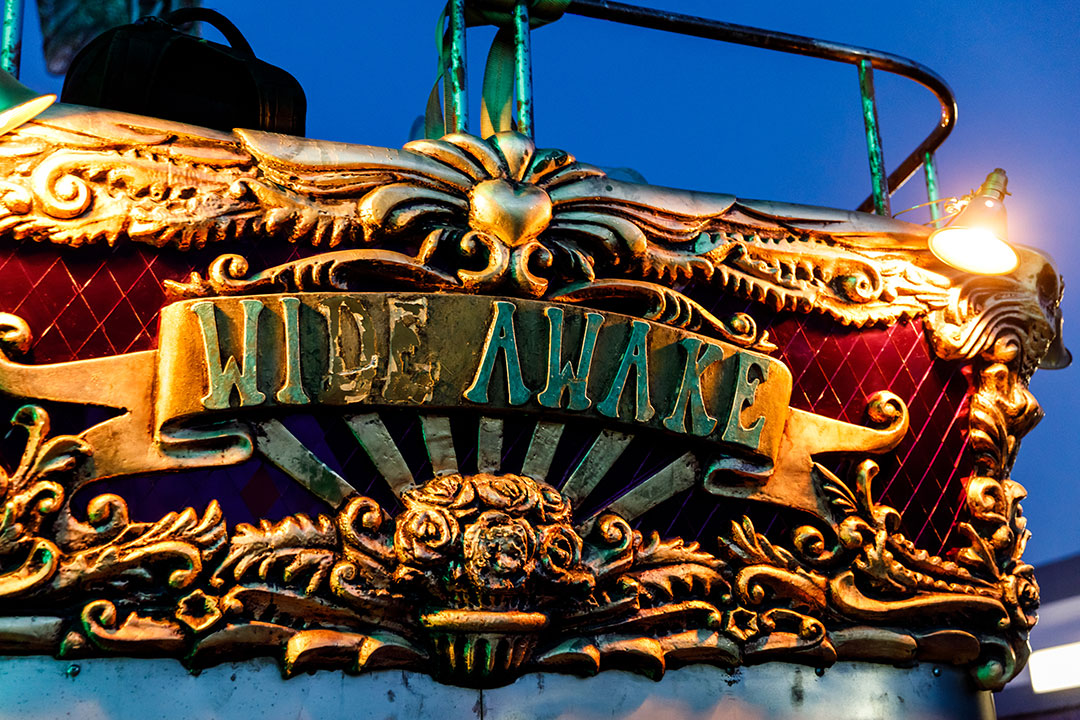 Wide Awake Art Car