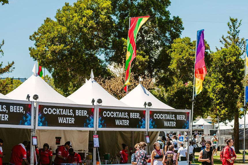 alcohol tents