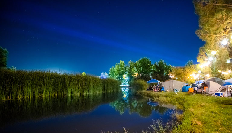 Lakeside Camping Header