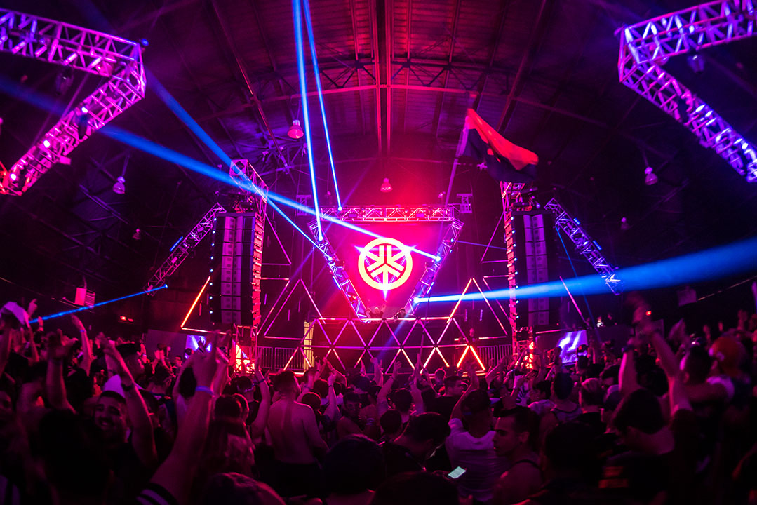 Basscon stage