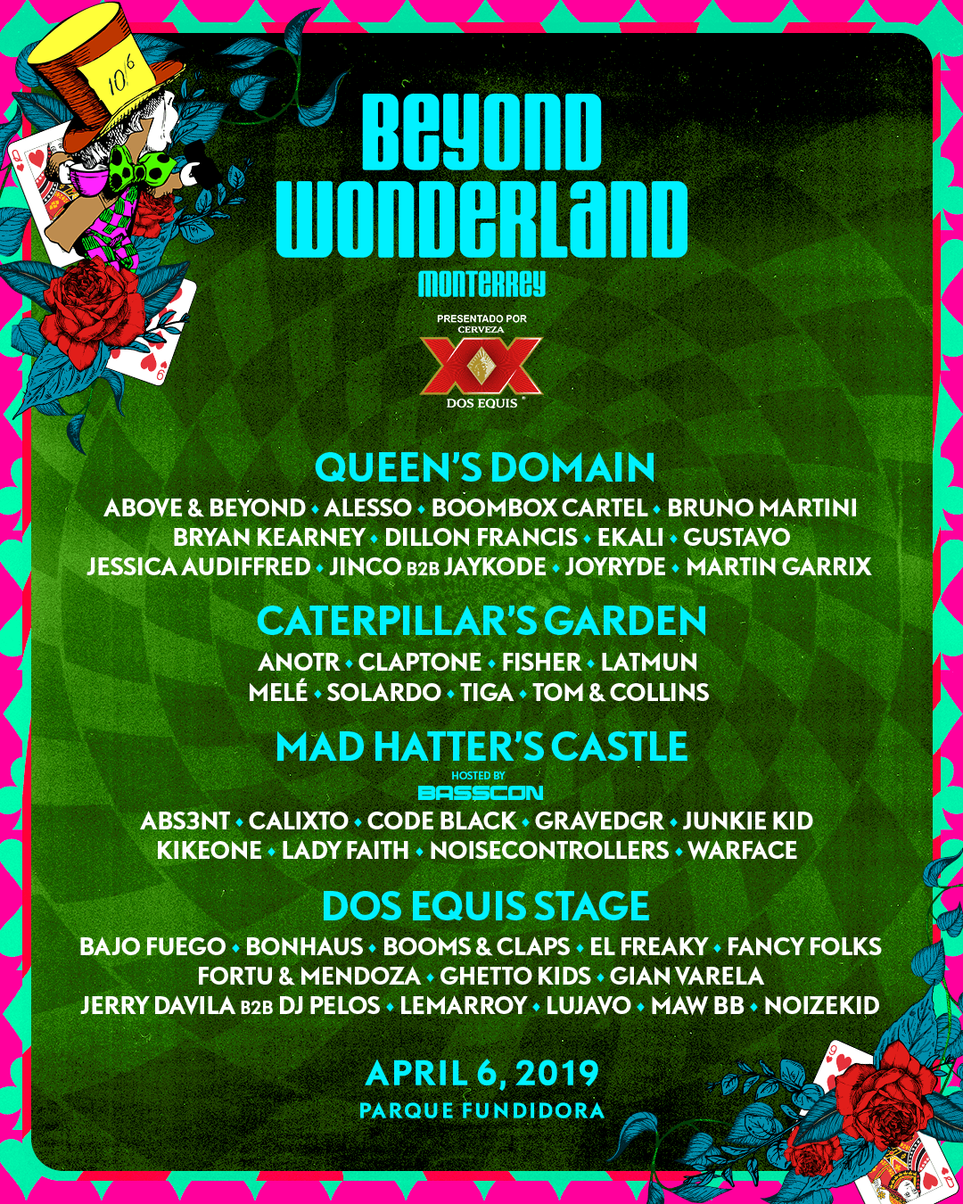 Beyond Monterrey 2019 lineup