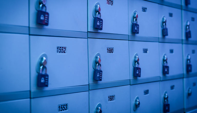 Locker Rentals Header