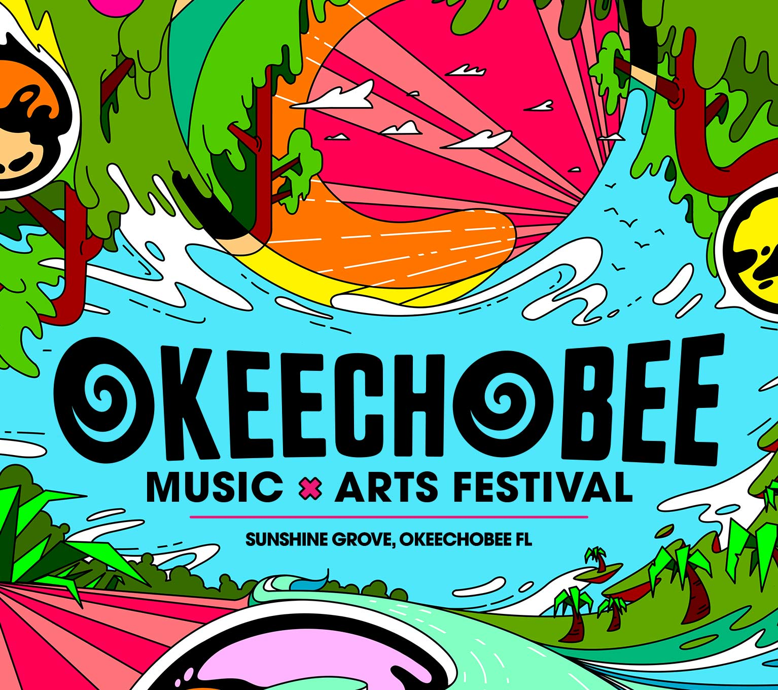 2020 Bonnaroo Music And Arts Festival Lineup.Okeechobee Music Arts Festival March 5 8 2020