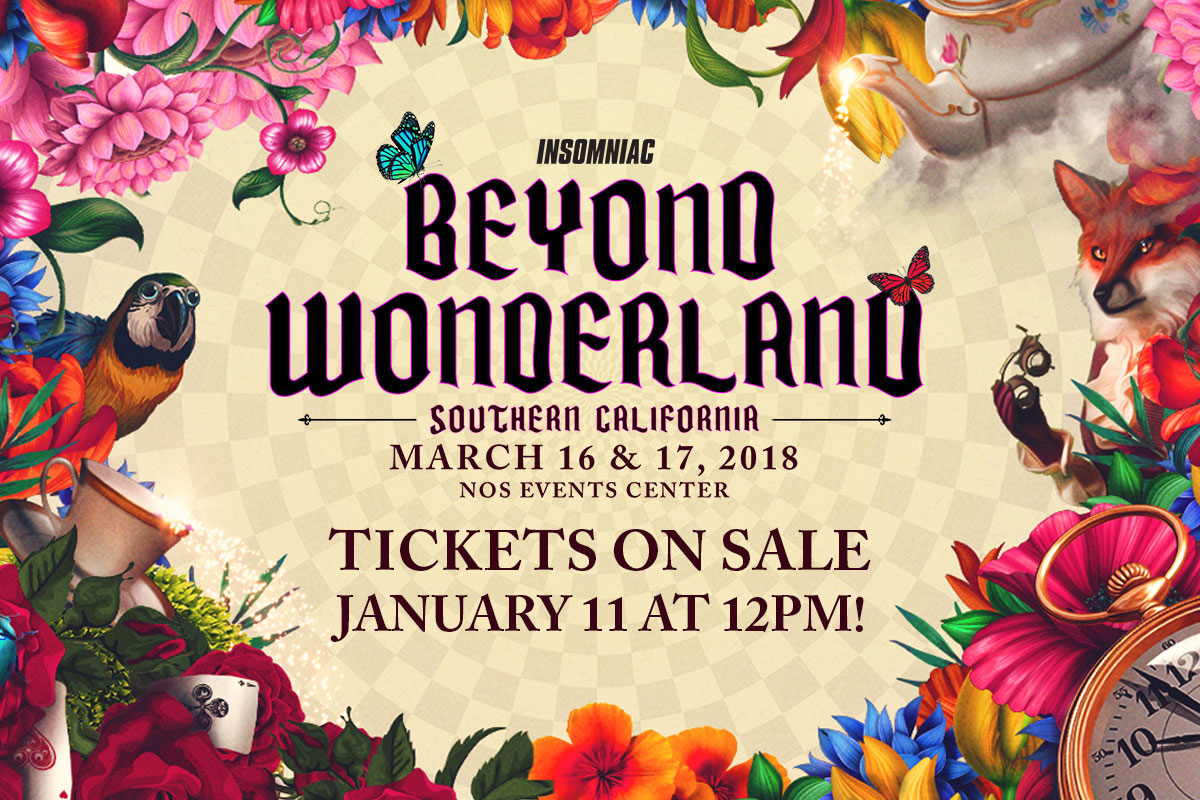 Beyond Wonderland SoCal 2018 Returns This March