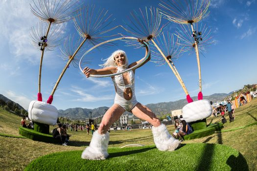 Hula-hooping Headliner at Beyond Wonderland SoCal 2015