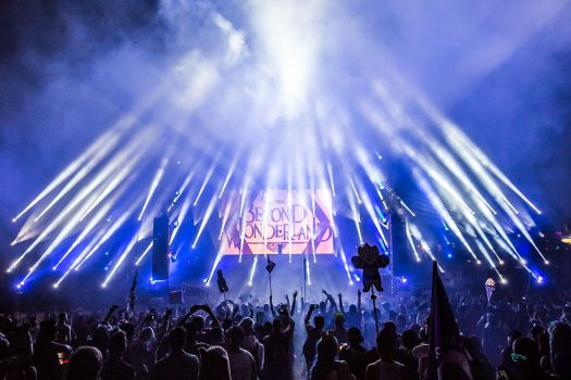 Dancing crowd at Beyond Wonderland SoCal 2015