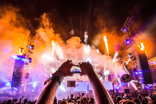 A Headliner captures a cell phone video of the show at Beyond Wonderland SoCal 2015