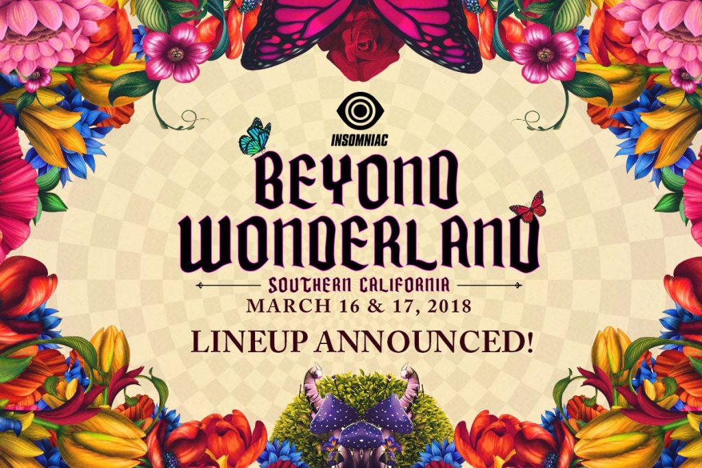 Beyond Wonderland SoCal 2018 Lineup Announced!