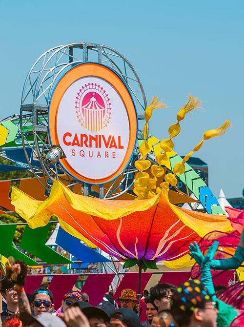 Carnival Square at EDC
