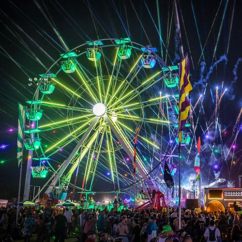 Ferris wheel at EDC Orlando
