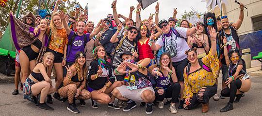 happy Headliners at EDC Orlando