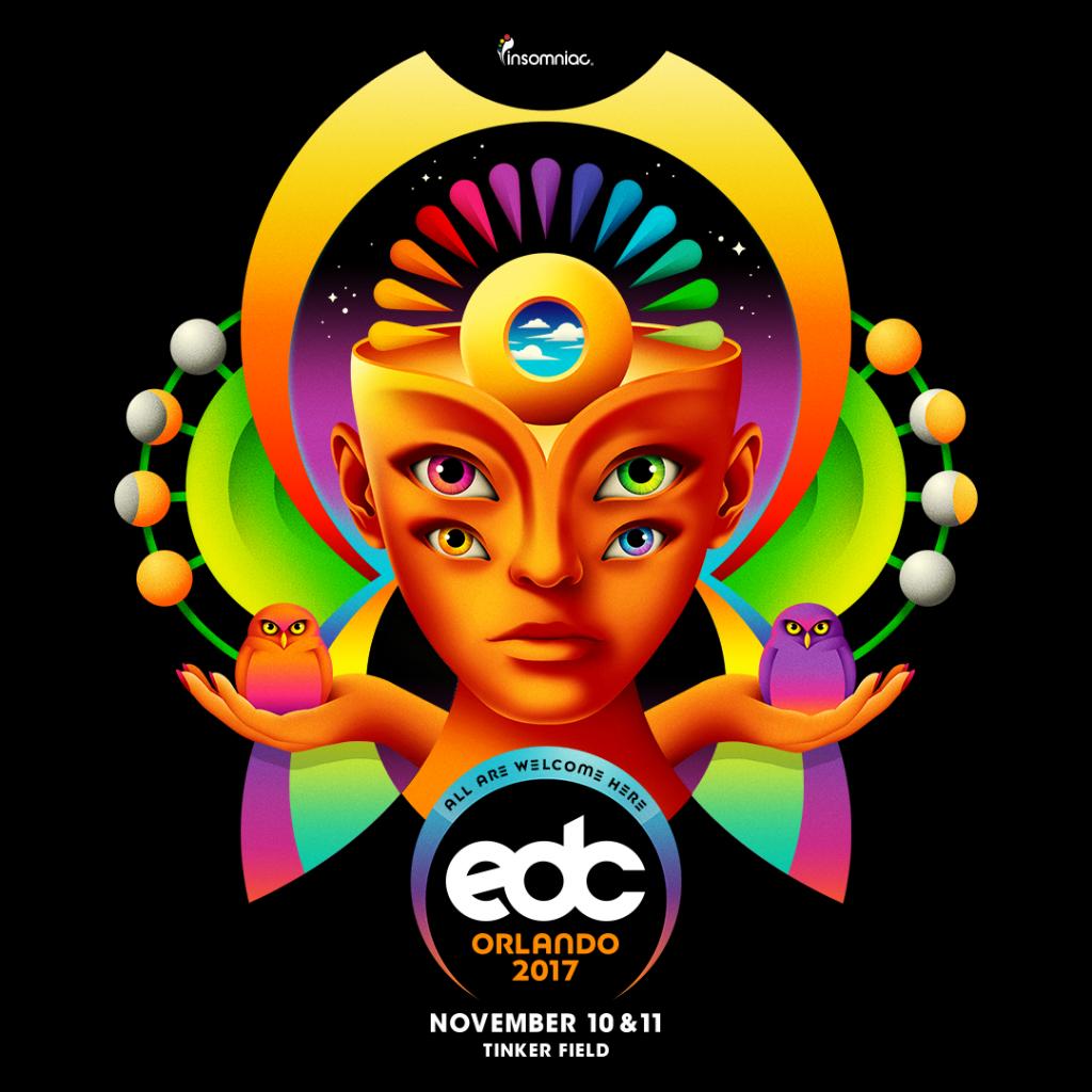 EDC Orlando 2017 key art
