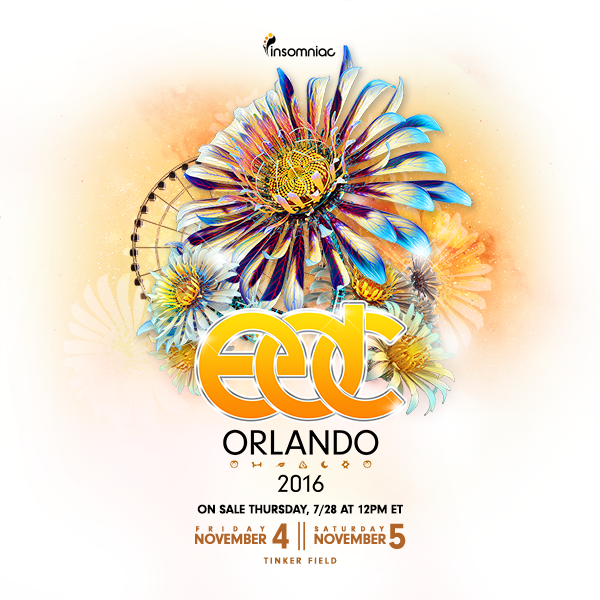 EDC Orlando 2016 key art