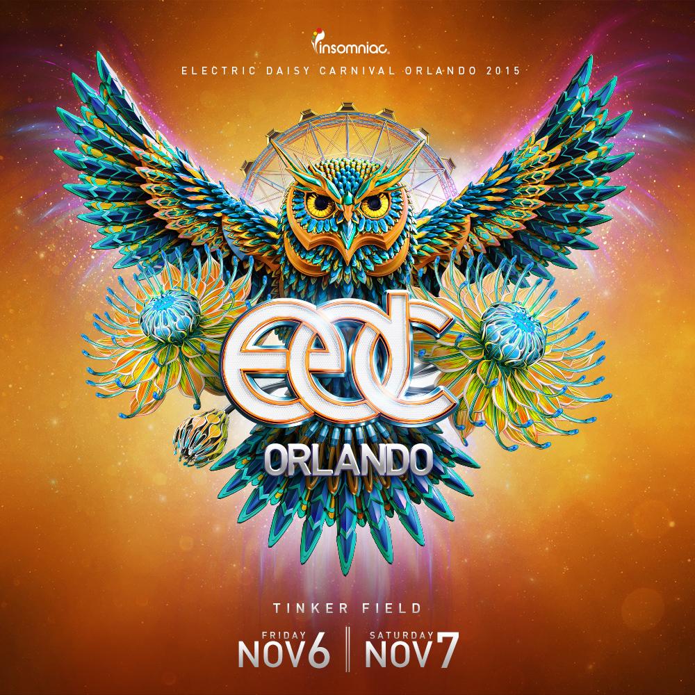 EDC Orlando 2015 key art