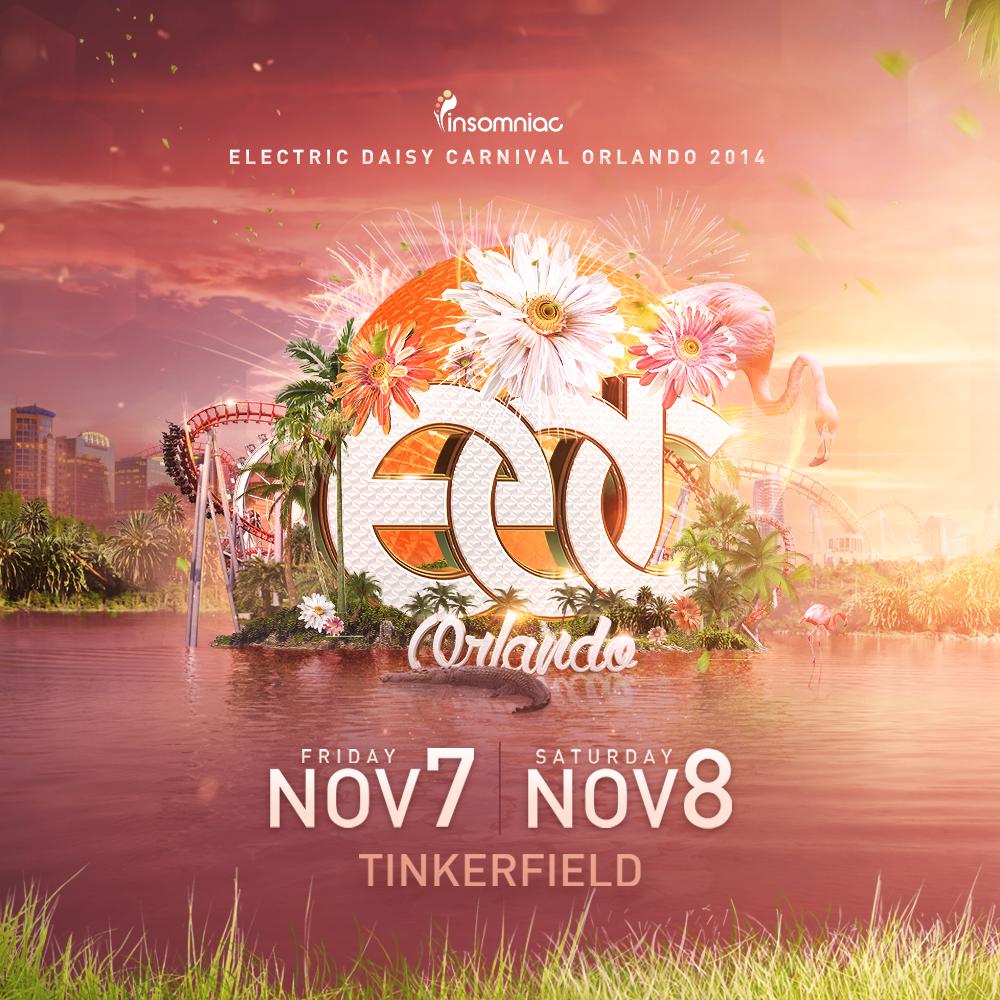EDC Orlando 2014 key art