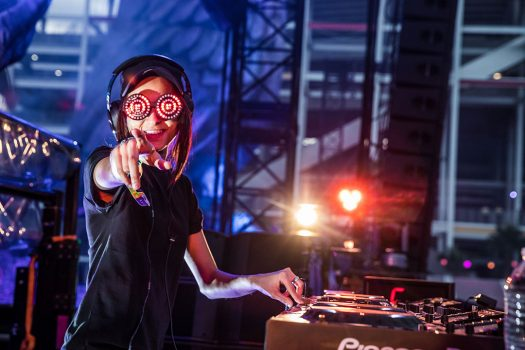 Rezz on the decks