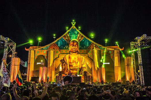 The giant Buddha of neonGARDEN
