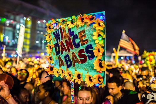 """Will Dance 4 Bass"" totem"