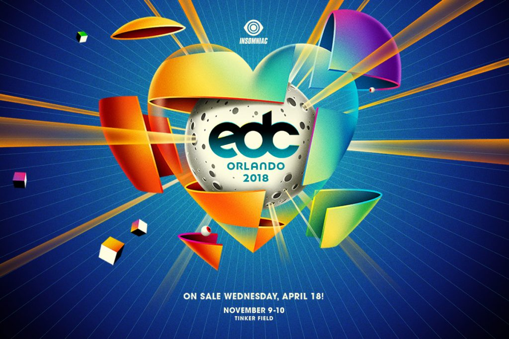 EDC Orlando 2018 Tickets on Sale Now!