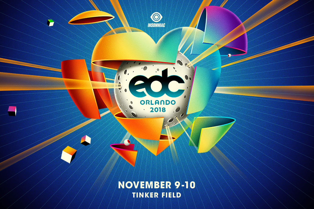 kineticLOVE Travels to EDC Orlando