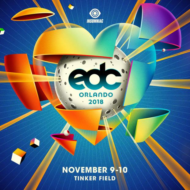 EDC Orlando 2018 key art