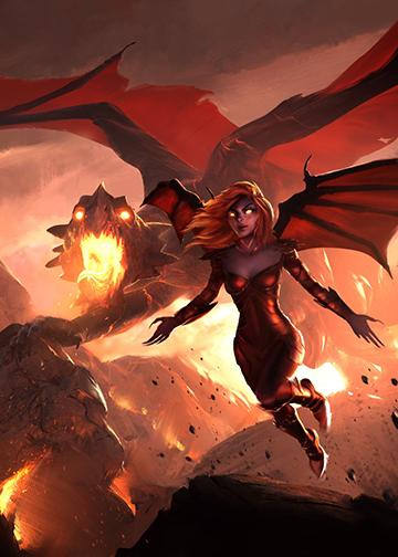 the dragon and alana