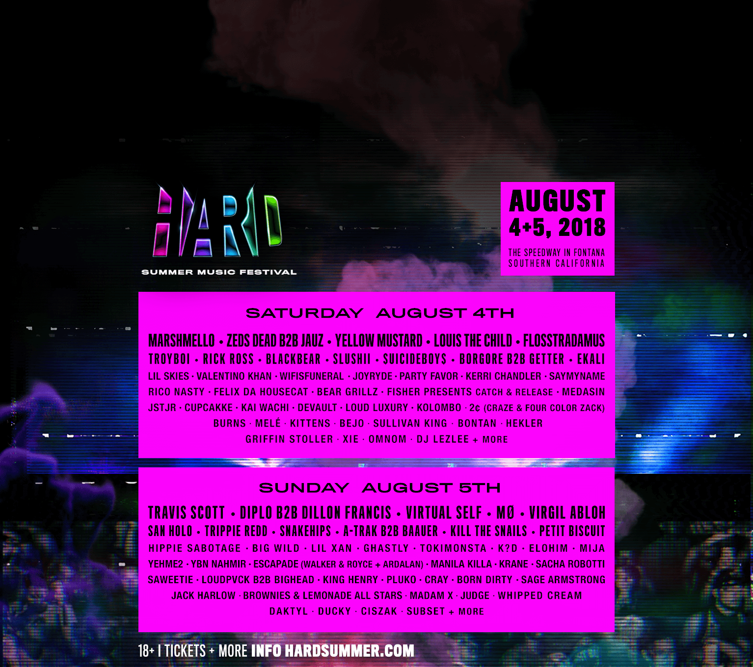 Hard Summer Drops Unique 2018 Lineup with Hilarious Trailer