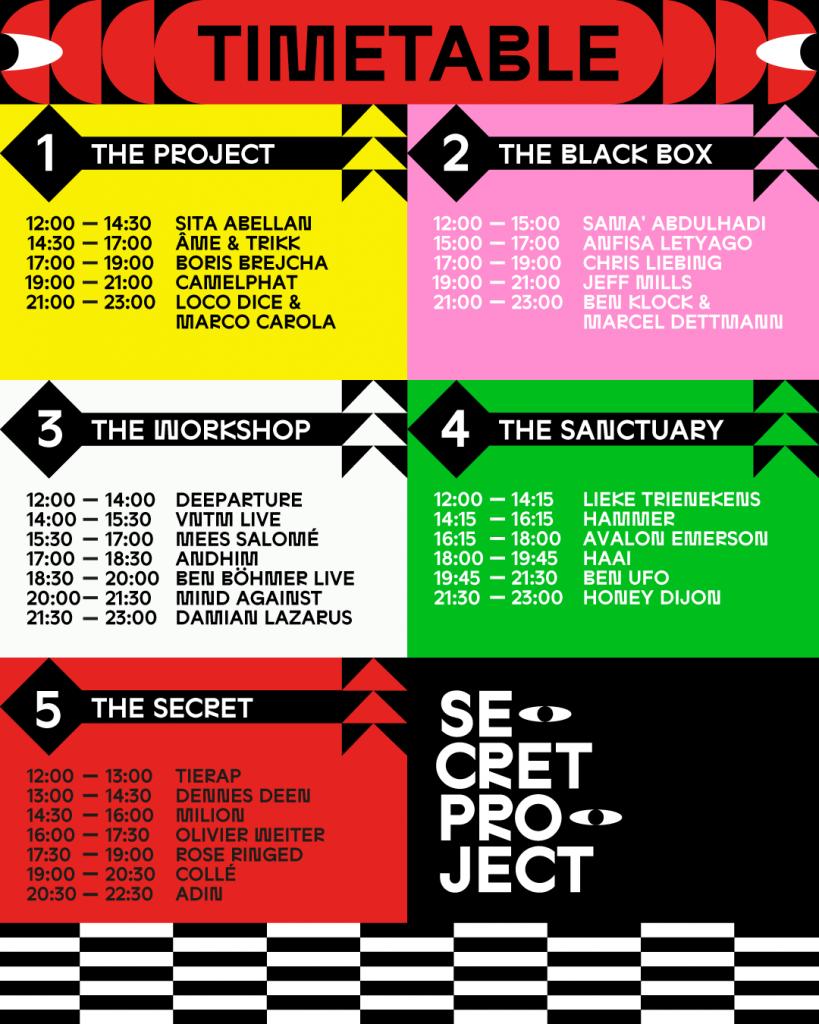 Set times