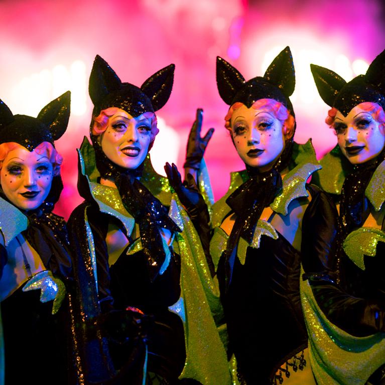 performers in cat ears