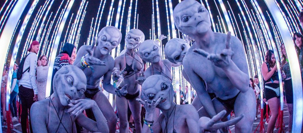 A group of aliens