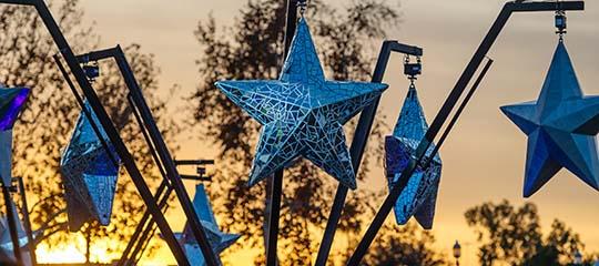 Star art installation